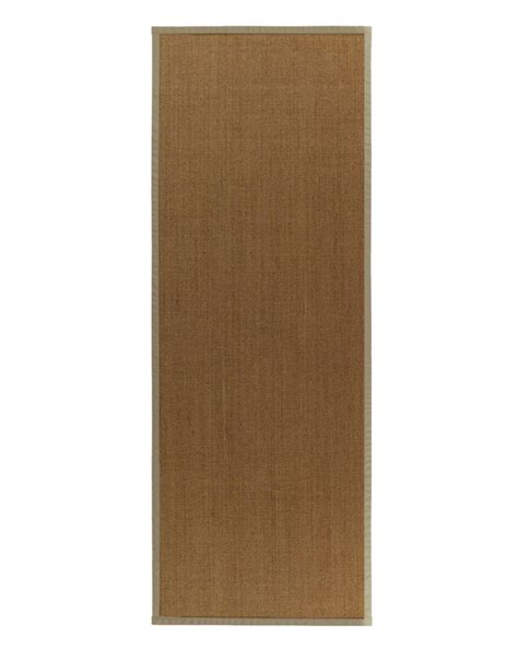 Bound Area Rugs Lanart Rug Sisal Bound 59 2 Ft 6 In X 8 Ft Area Rug The Home Depot Canada