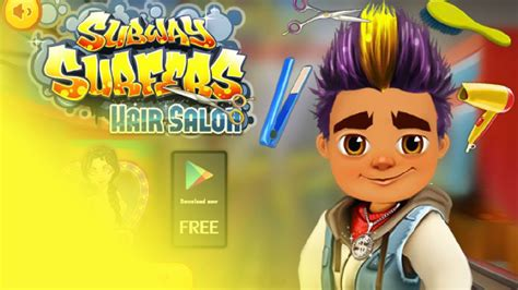 Free Hair To Play by Subway Surfers Free Hair Salon