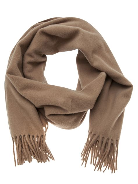 acne studios acne canada scarf in brown for lyst