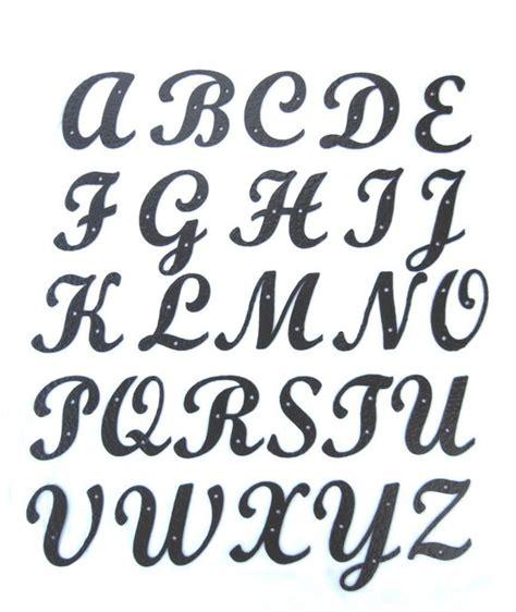 lettere alfabetiche hammered wrought iron standard script alphabet letters
