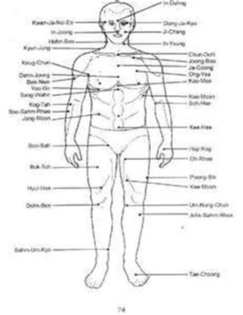 pressure point diagram touch my on pressure points