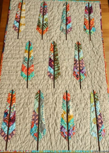 Feather Quilting by Feather Quilt Quilt