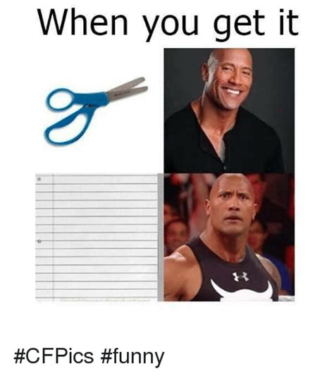 Funny It Memes - when you get it cfpics funny funny meme on sizzle