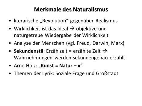 Realismus Kunst Merkmale 5677 by Literatur Um Die Jahrhundertwende Ppt