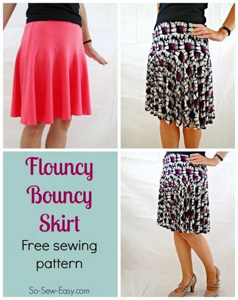 jersey skirt pattern free sewing patterns skirt tutorial and summer on pinterest