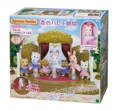 Sylvanian Families Ballerina Friends sylvanian families ballet theater in forest ems free tracking ship japan ebay