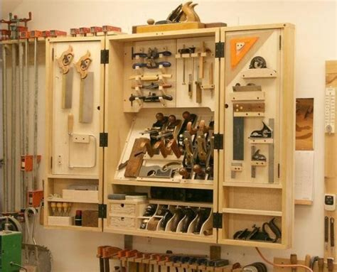 woodworking tool storage plans new tool cabinet packs in a lot of storage