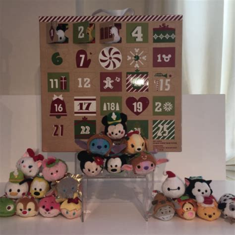 Do They Advent Calendars In Japan Previews Of The 2016 Tsum Tsum Advent Calendars