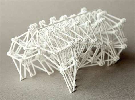 3d printed strandbeest new version 3d printing industry