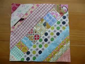 miss print tutorial pieced centre string quilt block