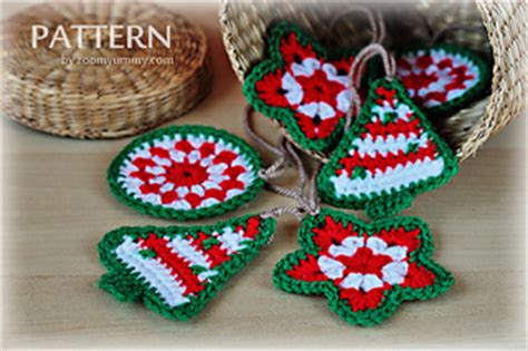 crochet pattern by zoom yummy com ravelry crochet christmas ornaments pattern by zoom yummy