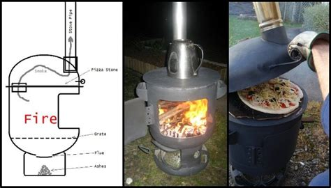 Pizza oven and patio heater combo!   DIY projects for