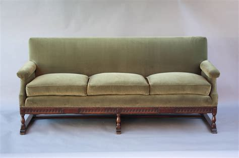 sofa spanish spanish revival carved walnut sofa at 1stdibs
