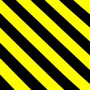 black and yellow hazard stripes pictures to pin on