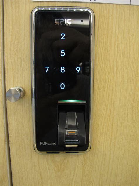 Kunci Pintu Digital jual kunci pintu digital merk epic popscan fingerprint