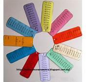 Rinc&243n De Una Maestra Cuaderno Tablas Multiplicar