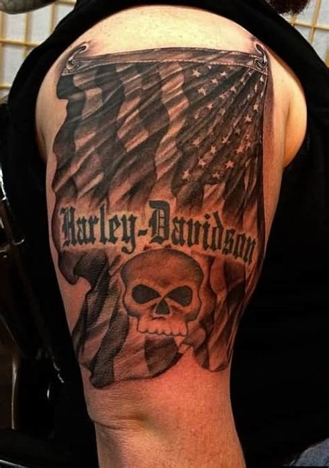 harley davidson skull tattoo designs 16 harley 1 logo tattoos