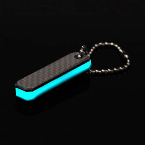 touch of modern keychain carbon fiber lume lumi works touch of modern