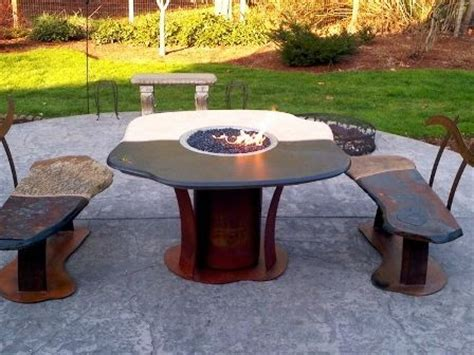 12 best images about pit dining tables on