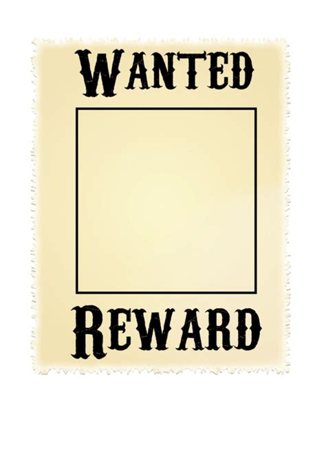 printable wanted poster for classroom wanted poster template printable pdf download
