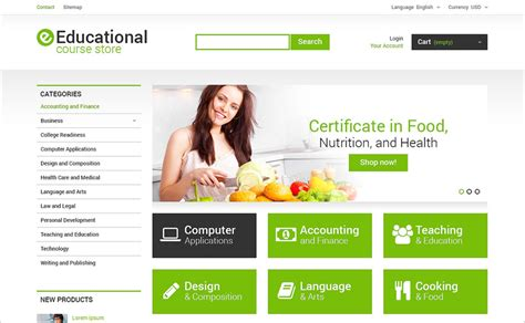 online tutorial website templates 15 best educational website templates free responsive