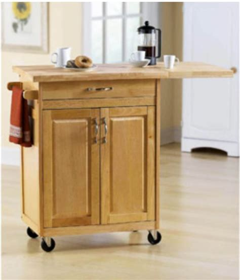 rolling kitchen island cart counter storage organization