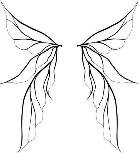 how to draw a fairy silhouette step by step fairies tinkerbell wings drawing clipart panda free clipart