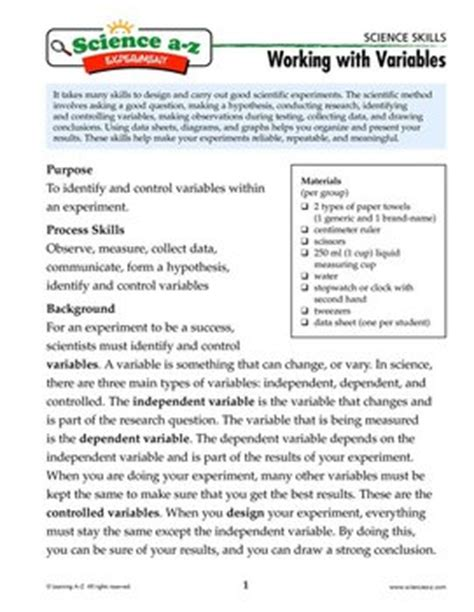 active reading section scientific methods answers printables science skills worksheet answers eatfindr