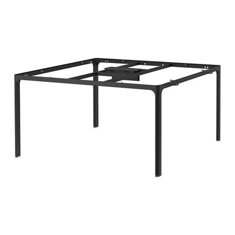 Dining Room Furniture Stores by Bekant Frame For Table Top Black Ikea