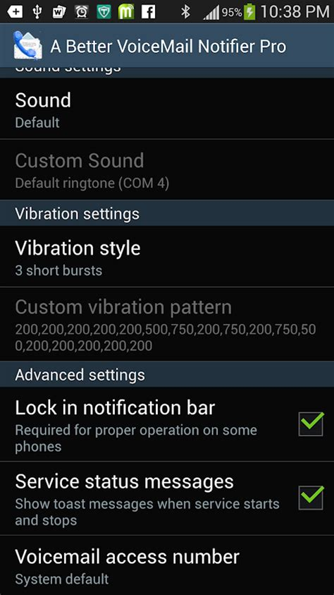 android voicemail notification better voicemail notifier pro android apps on play