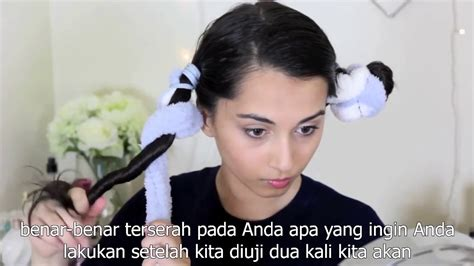 cara cepol rambut menggunakan jedai cara membuat rambut keriting bawah tanpa alat youtube