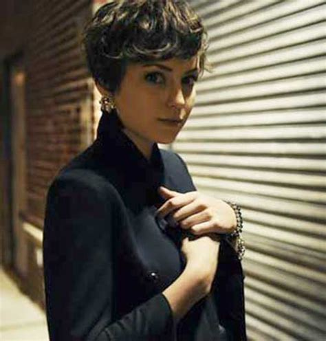 hairstyles for thick curly hair short short pixie haircuts