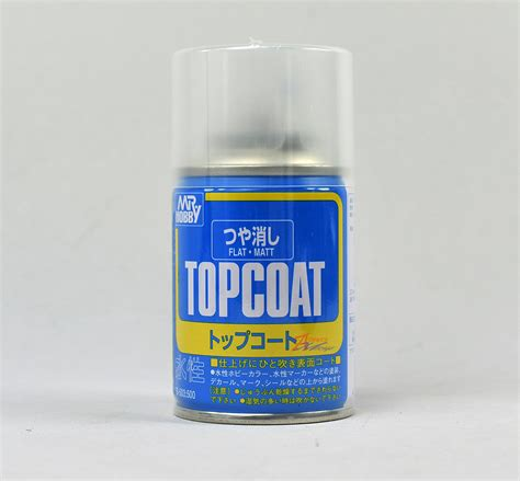 mr hobby top coat spray 86ml flat matt clear b503 ebay