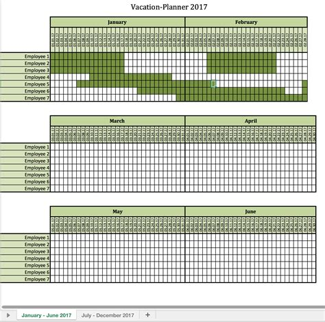 vacation planning calendar template vacation planner 2017 excel templates for every purpose