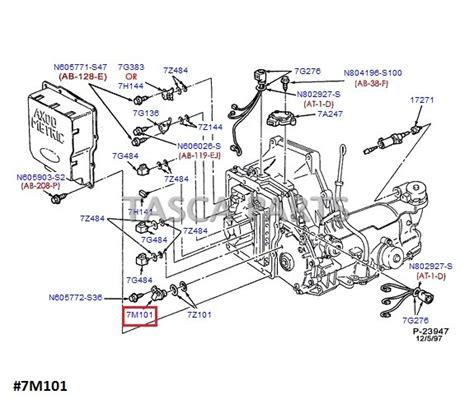 Mazda Genuine Parts Seal Crankshaft Ford Escape 2 3 Lf0111310 new oem motorcraft turbine shaft speed sensor ford taurus