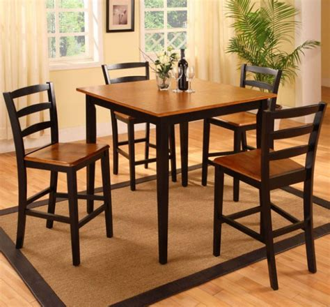 4 piece dining table set image