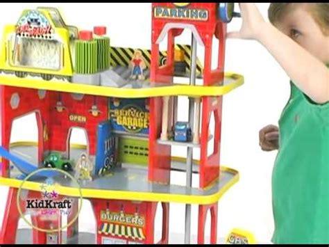 circuit de voiture garage en bois pour enfant kidkraft