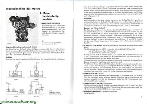 Sachs Motor 600 L by Sachs Diesel 600 L Handbuch