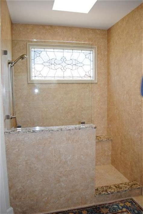 Shower Stall Without Door Walk In Showers Without Doors Glen Hutchison Inc Showers W Out Doors Ideas For The House