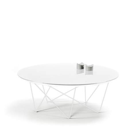 Table Basse Ronde Blanche 3272 by Table Basse Ovale Blanc Laqu Great Table Basse Blanc
