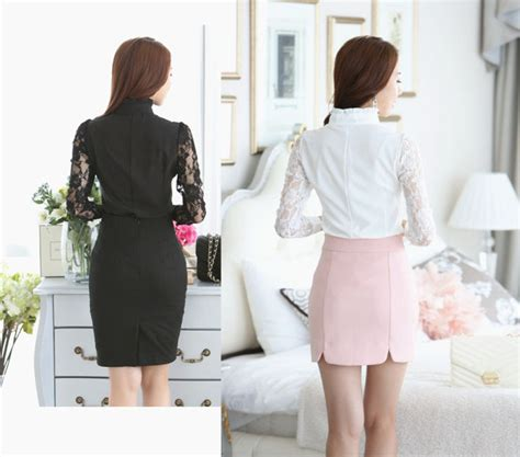 Bagus Bangett Mini Brokat baju kemeja hitam motif brokat 2015 myrosefashion