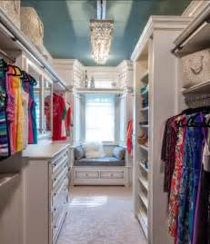 chandelier in your walk in closet absolutely