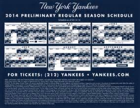 yankees home schedule new york yankees printable schedule yankeescom schedule
