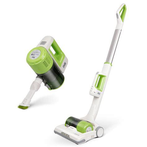 Handheld Or Normal Vacuum Cleaner 2200mah dibea c01 cordless 2 in 1 upright vacuum cleaner handheld suction stick green ebay