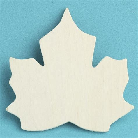 pattern for wood cutouts unfinished wood maple leaf cutout halloween and fall