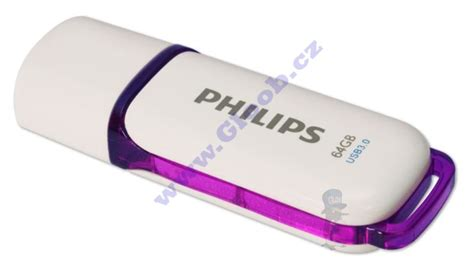 Flasdisk Philips philips usb flash disk 64gb snow 3 0 fm64fd75b 10 gloob cz