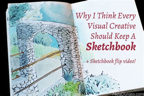 sketchbook how to use why i think every visual creative should keep a sketchbook