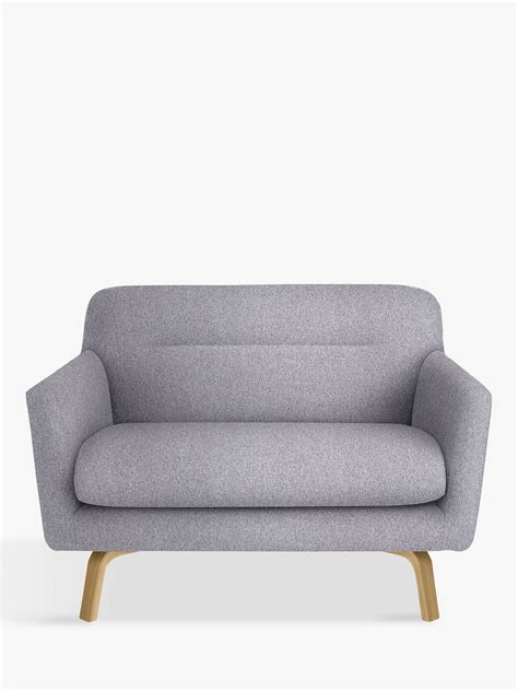 2 Seater Grey Sofa by House By Lewis Archie Small 2 Seater Sofa Light Leg