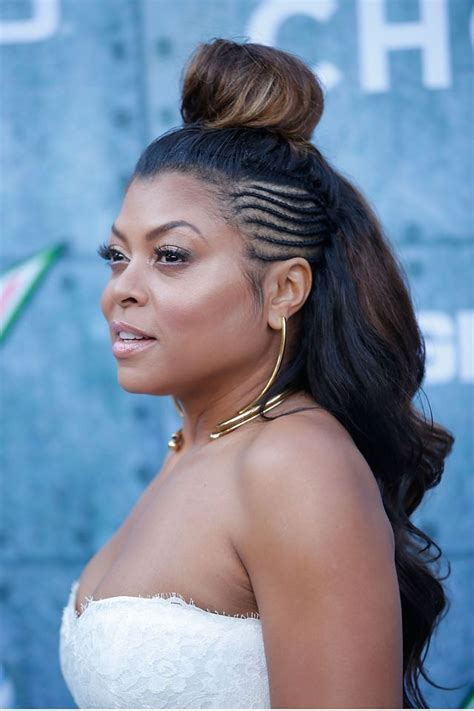 what type of hair does taraji henson weave 17 best ideas about black hairstyles updo on pinterest