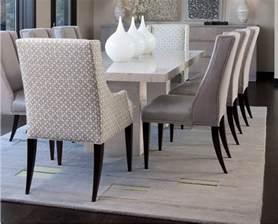 chaises de salle a design cuir